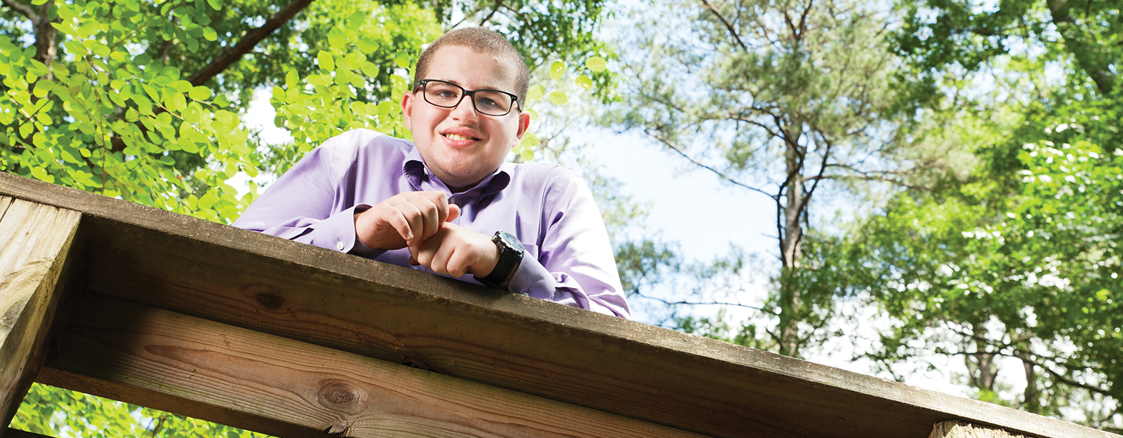 Connor at Marcus Autism Center